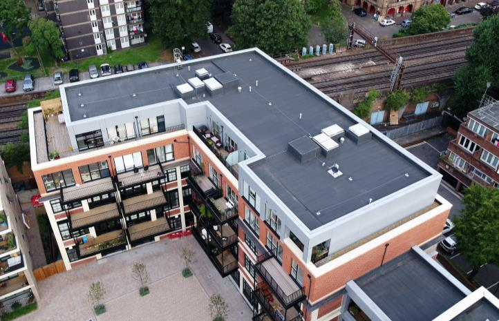 MOY Paralon Total Warm Roof System was the preferred system of choice for Camberwell Road